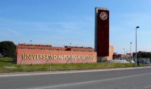 universidad Alfonso el sabio