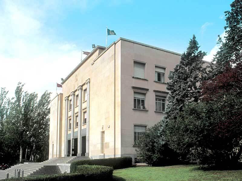 ETSAM fachada principal