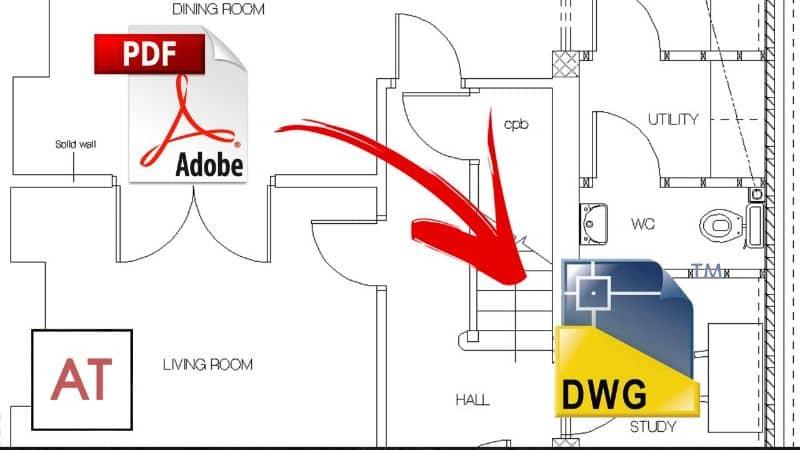 PDF a DWG