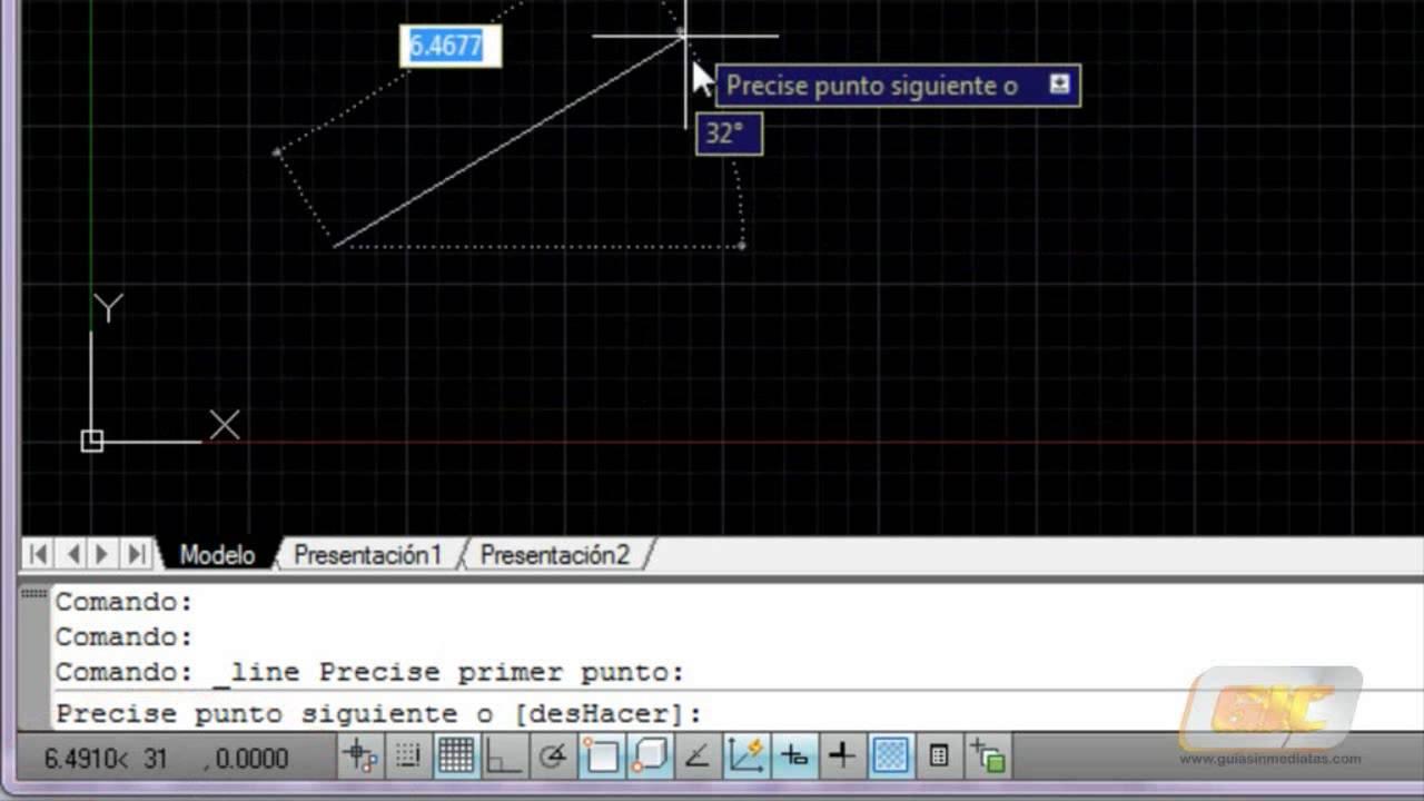 Unidades y coordenadas en Autocad