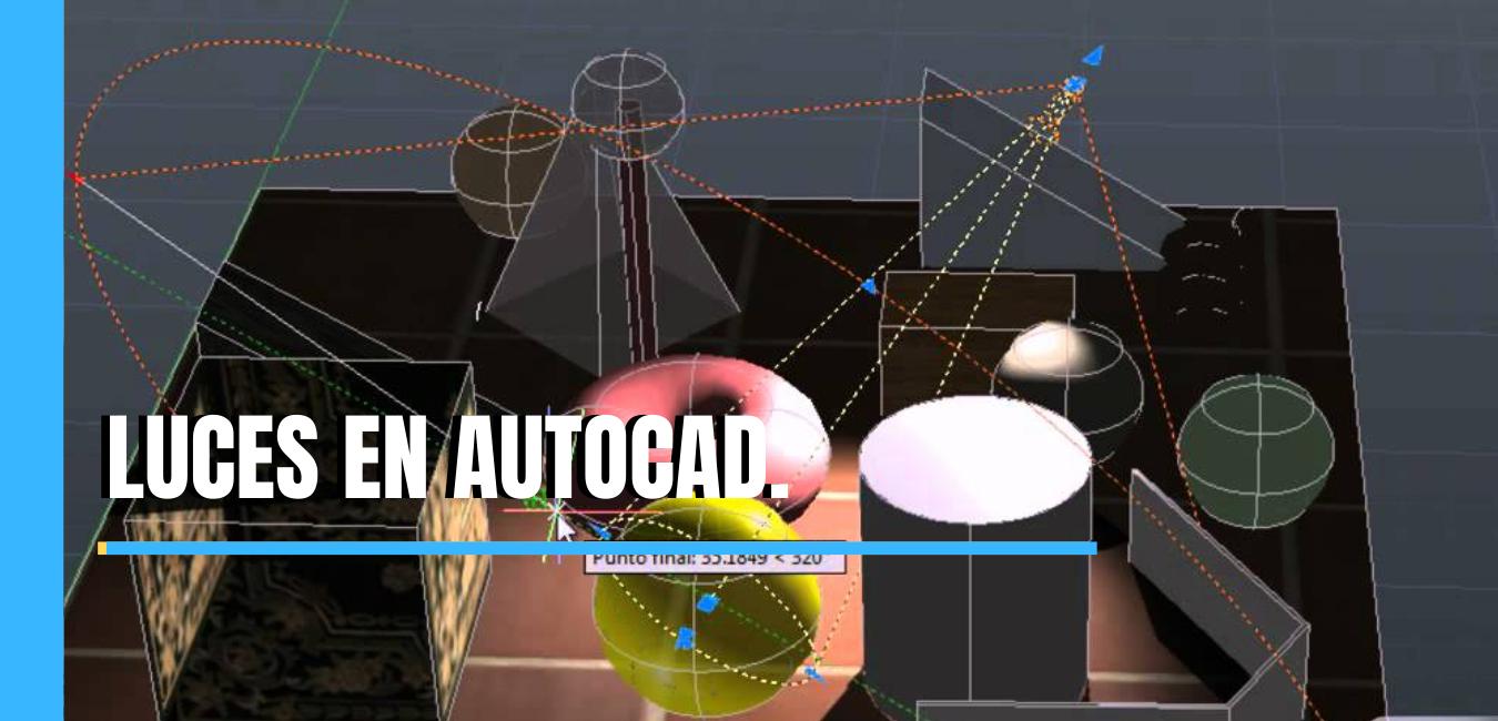 Cómo poner luces en AutoCAD