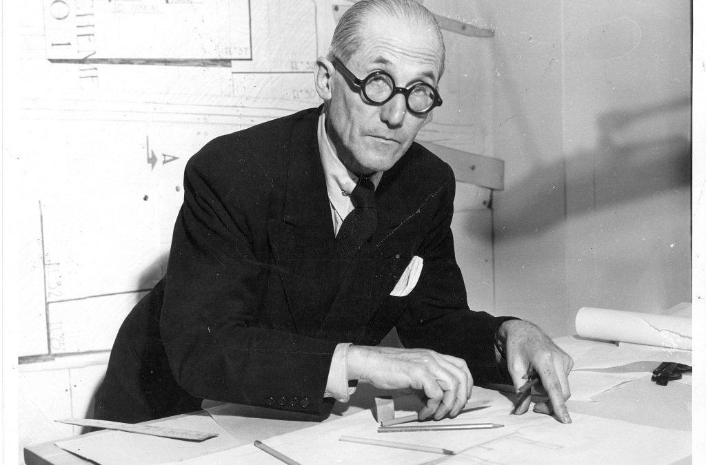 El afamado arquitecto Le Corbusier