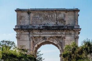 Arco de Tito Roma Italia