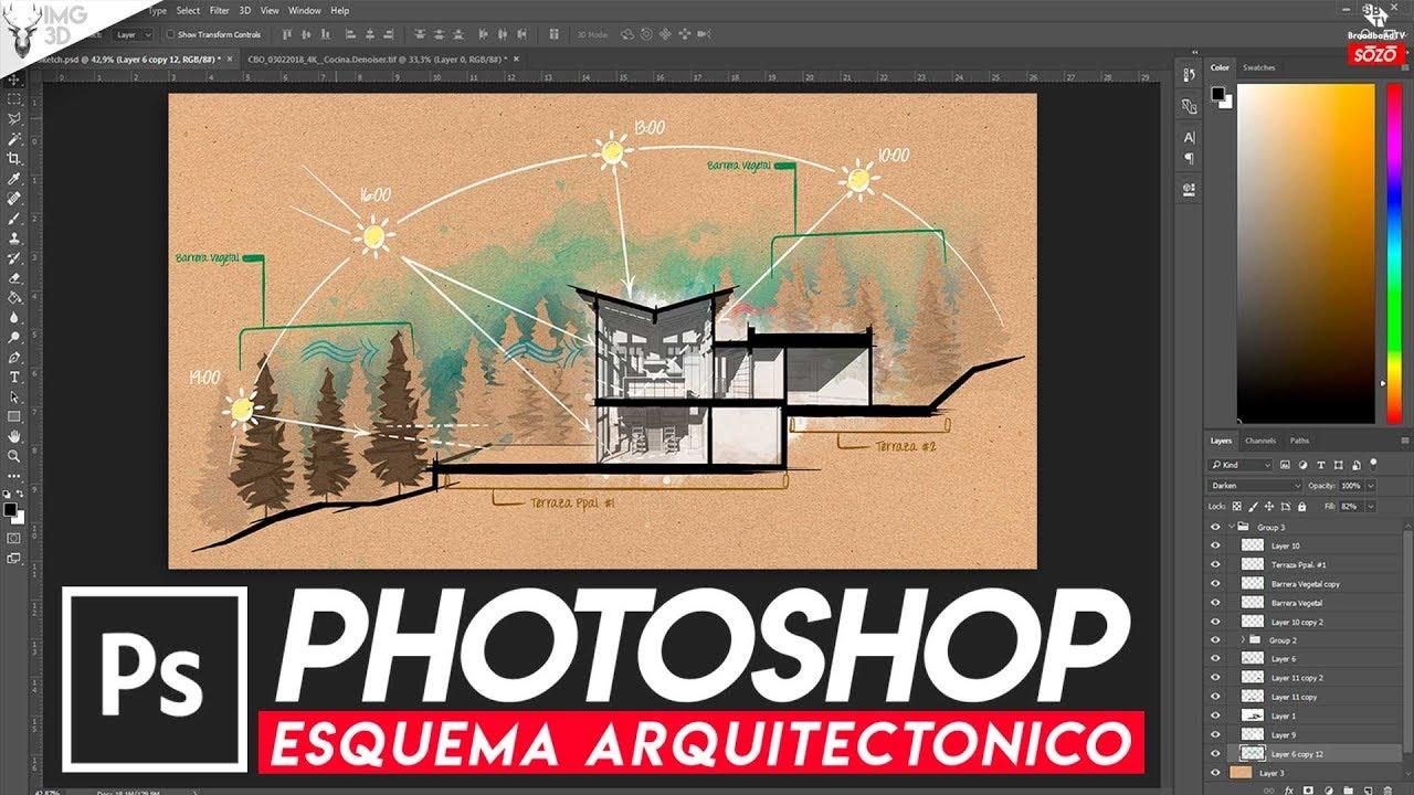 Photoshop en la arquitectura