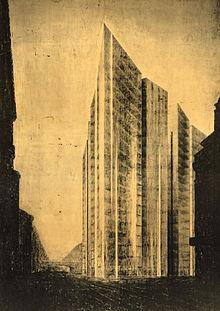 Rascacielos de Friedrichstraße