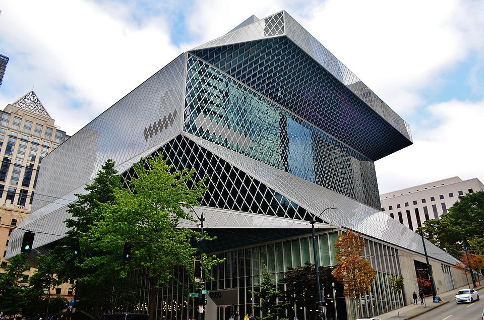 Rem Koolhaas biblioteca central de seattle